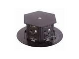 品牌:奥威亚 AVA&#10名称:电动升降式园形六面桌面插座(信息岛)&#10型号:CZ-JXH-701