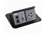 品牌:奥威亚 AVA&#10名称:弹起式长方形斜面桌面插座&#10型号:CZ-JXH-301AU