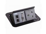 品牌:奥威亚 AVA 名称:弹起式长方形斜面桌面插座 型号:CZ-JXH-301UK