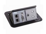 品牌:奥威亚 AVA 名称:弹起式长方形斜面桌面插座 型号:CZ-JXH-301SA