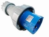 品牌:威浦 Weipu&#10名称:IP67工业用插头3芯(125A220V)&#10型号:971