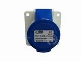 品牌:怡达 YEEDA 名称:IP44暗装直插座3芯(16A220V) 型号:1133106