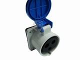 品牌:怡达 YEEDA 名称:IP44暗装直插座3芯(32A220V) 型号:1233106