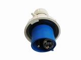 品牌:怡达 YEEDA&#10名称:IP67连接器插头3芯(32A220V)&#10型号:0230206