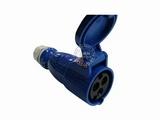 品牌:怡达 YEEDA 名称:IP44连接器插座3芯(16A220V) 型号:1132106