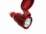 品牌:怡达 YEEDA 名称:IP44连接器插座5芯(16A380V) 型号:1152106