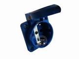 品牌:怡达 YEEDA&#10名称:IP54暗装欧标插座(16A250V)&#10型号:1123106