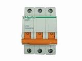品牌:施耐德 Schneider 名称:EA9AN 3P50A断路器 型号:EA9AN3PC50