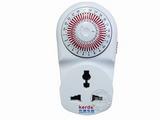 品牌:科德 Kerde&#10名称:24小时机械定时器插座&#10型号:TW-260