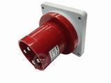品牌:威浦 Weipu 名称:IP44暗装直式插头4芯(63A380V) 型号:543