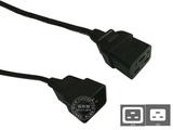 品牌:国产 Guochan&#10名称:服务器PDU专用16A延长线5米1.5平方&#10型号:C19-C20/5m/1.5mm