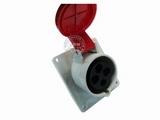 品牌:威浦 Weipu 名称:IP44暗装斜插座4芯(32A380V) 型号:3818