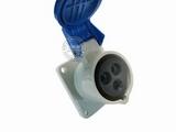 品牌:威浦 Weipu 名称:IP44暗装直插座3芯(16A220V) 型号:5601
