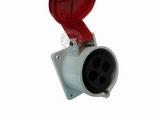 品牌:威浦 Weipu 名称:IP44暗装直插座4芯(32A380V) 型号:5818