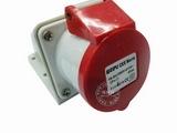 品牌:威浦 Weipu 名称:IP44明装插座4芯(16A380V) 型号:6618