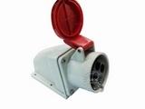 品牌:威浦 Weipu 名称:IP44明装插座4芯(32A380V) 型号:6818