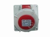 品牌:威浦 Weipu 名称:IP67暗装斜插座4芯(16A380V) 型号:3619