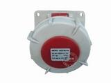 品牌:威浦 Weipu 名称:IP67暗装斜插座4芯(32A380V) 型号:3819