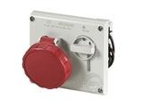 品牌:司坎拓普 SCAMETOP 名称:IP67暗装联锁插座4芯(16A380V) 型号:405.1686