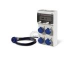 品牌:司坎拓普 SCAMETOP&#10名称:4位组合箱插座(带漏电保护)&#10型号:630.4506-012