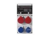 品牌:司坎拓普 SCAMETOP&#10名称:4位组合箱插座(带漏电保护)&#10型号:632.4506-006