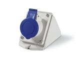 品牌:司坎拓普 SCAMETOP&#10名称:IP44明装插座3芯(32A220V)&#10型号:512.3253