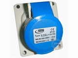 品牌:怡达 YEEDA 名称:IP44暗装斜插座3芯(16A220V) 型号:1134106