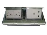 品牌:飞利富 Feilifu 名称:二位多功能+一位英标地面插座 型号:HTD-1602L