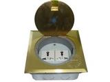 品牌:飞利富 Feilifu&#10名称:铜合金开启式地面插座&#10型号:HTD-140FK