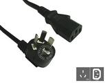 品牌:国产 Guochan&#10名称:电脑/服务器10A电源线1.8米0.75平方&#10型号:GB10-C13/1.8m/0.75mm