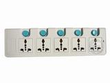 品牌:可来博 Clamber 名称:高品尊享五位五开关插座 3米 型号:STY-E55.3m