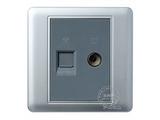 品牌:品上 POSO 名称:电话/电视插座 型号:PSB-LV