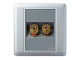 品牌:品上 POSO&#10名称:一位音响插座&#10型号:PSB-Y