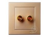 品牌:品上 POSO&#10名称:一位音响插座&#10型号:PSG-Y/A