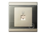 品牌:品上 POSO&#10名称:一位超五类电脑插座(打线)&#10型号:S/C01