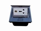 品牌:国产 Guochan 名称:弹起式桌面插座(三孔网络) 型号:AS-A001A-BK-2