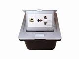 品牌:国产 Guochan 名称:弹起式桌面插座(三孔网络)  型号:AS-A001A-SL-1