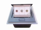 品牌:国产 Guochan 名称:弹起式桌面插座(音频视频)  型号:AS-A002A-BK-2