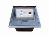 品牌:国产 Guochan 名称:弹起式桌面插座(三孔网络)  型号:AS-A002A-BK-4
