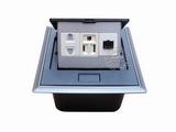 品牌:国产 Guochan 名称:弹起式桌面插座(二孔美标网络)  型号:AS-A002A-BK-7