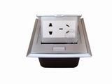 品牌:国产 Guochan 名称:弹起式桌面插座(五孔)  型号:AS-A002A-SL-1