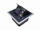 品牌:国产 Guochan 名称:弹起式桌面插座(英标网络电话)  型号:AS-A002C-BK-1