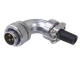品牌:科臣 Kechen&#10名称:航空插头/插座 弯式电缆插头&#10型号:KC-BC