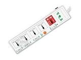 品牌:纽曼 Newmine 名称:节电插座 电脑专用  分控五位 型号:PC01S