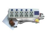 品牌:国产 Guochan&#10名称:独立五路交流遥控插座&#10型号:AS-LY86