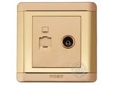 品牌:品上 POSO 名称:电脑/电视插座 型号:R/TV01/C01
