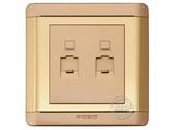 品牌:品上 POSO 名称:二位电脑插座 型号:R/C01/2