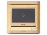 品牌:品上 POSO 名称:荧光指示门铃开关 型号:R/31/BPB/Y