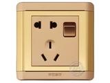 品牌:品上 POSO&#10名称:一位单控开关二三级插座&#10型号:R/15/10USL