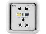 品牌:佳安宝 GAB&#10名称:漏电保护(墙壁)五孔插座 &#10型号:J-2-10L-10-CB